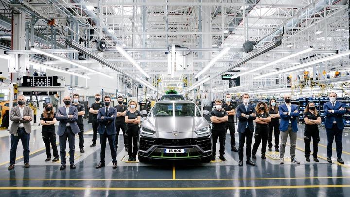 Lamborghini Urus ustanawia nowy rekord produkcji w historii firmy
