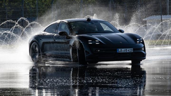 Porsche Taycan trafia do Księgi Rekordów Guinnessa