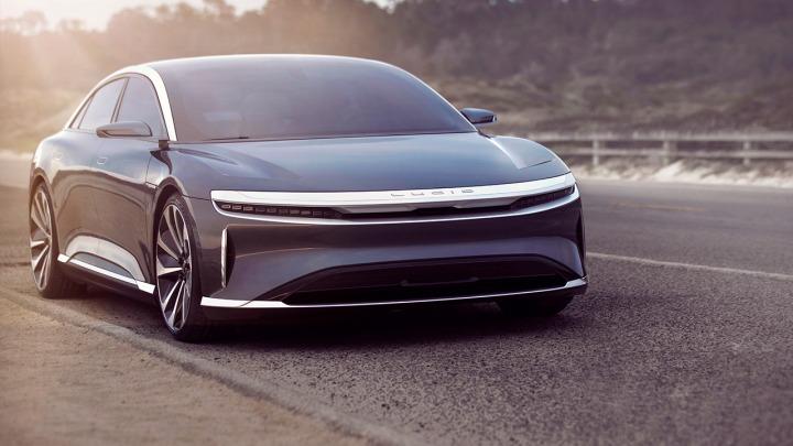Lucid Motors przedstawia Lucid Air, najpotężniejszy i najbardziej wydajny luksusowy sedan elektryczny na świecie