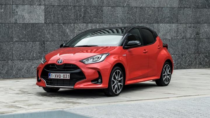 Toyota Yaris wybrana samochodem roku