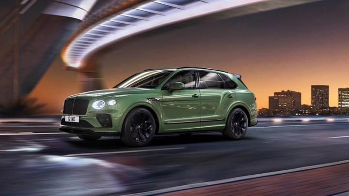 Definitywnie luksusowy SUV nowy Bentley Bentayga