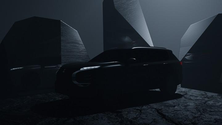 Mitsubishi prezentuje pierwsze zdjęcie zupełnie nowego OUTLANDERA