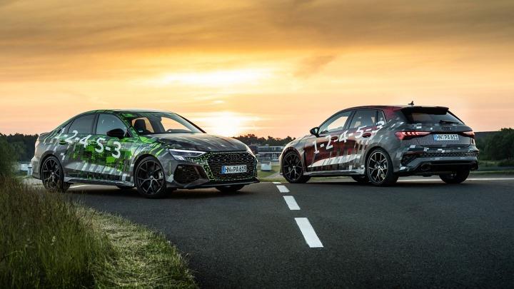 Tryb Driftu w nowym prototypie Audi RS 3