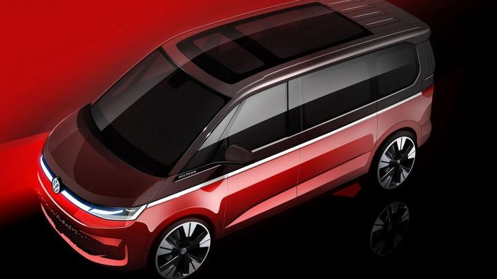 Volkswagen Samochody Dostawcze pokazuje szkic nowego Multivana
