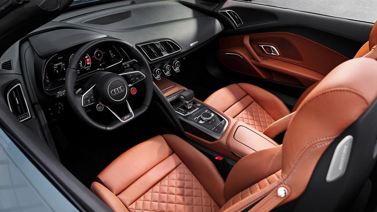 Audi R8 V10 performance RWD, wnętrze