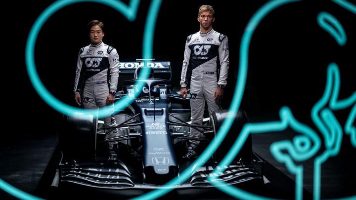 Scuderia AlphaTauri zaprezentował swój nowy bolid na sezon 2021