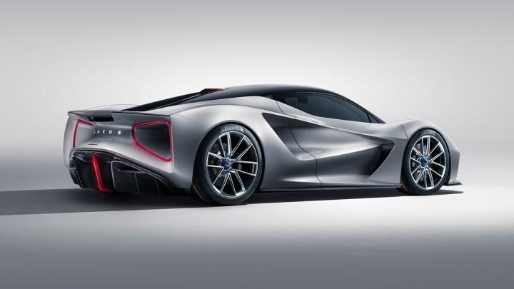 Pierwszy brytyjski hipersamochód w pełni elektryczny Lotus Evija