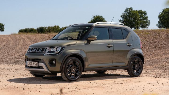 Crossover Suzuki Ignis Hybrid 2020 po liftingu