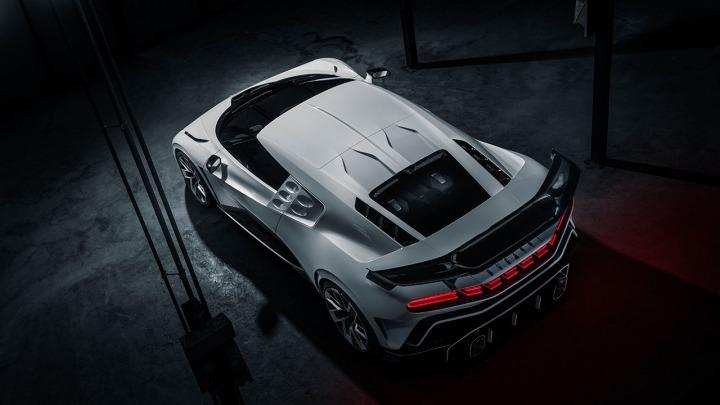 Bugatti Centodieci pierwszy prototyp nowej serii