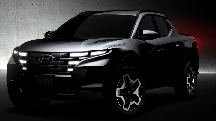 Hyundai publikuje szkic modelu SantaCruz