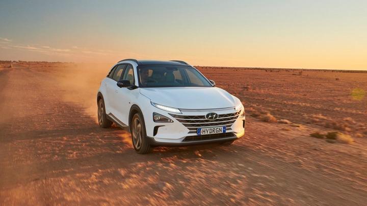 Wodorowy Hyundai NEXO bije własny rekord