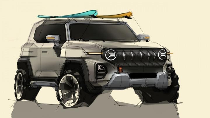 SsangYong opublikował projekt swojego SUV-a nowej generacji
