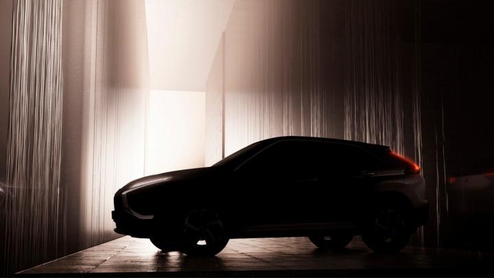 Mitsubishi pokazało pierwszy szkic nowego Eclipse Cross