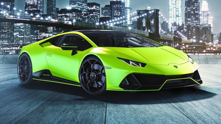 Lamborghini przedstawia Huracán EVO Fluo Capsule