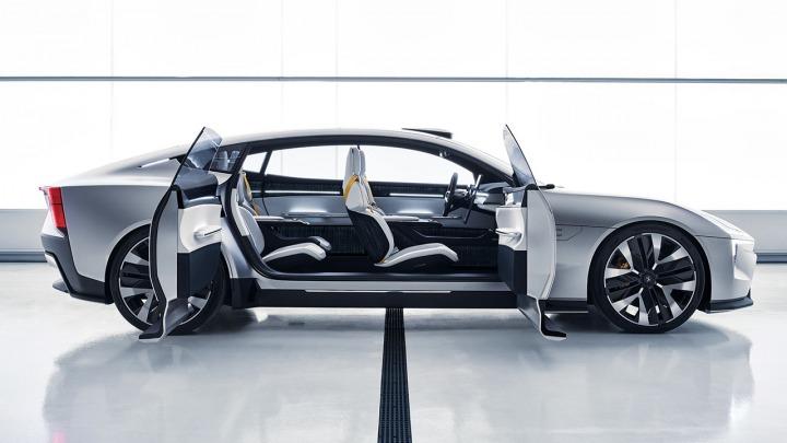 Polestar Precept uznany za najlepszy samochód koncepcyjny
