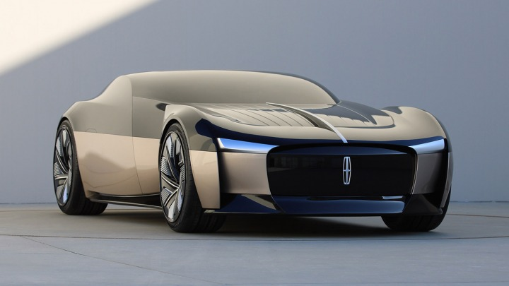 Poznaj futurystyczny, czteroosobowy pojazd Lincoln Anniversary
