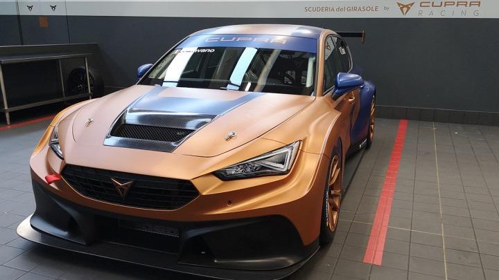 Nowy samochód wyścigowy CUPRA Leon Competicion zadebiutuje podczas Mistrzostw Włoch TCR 2020