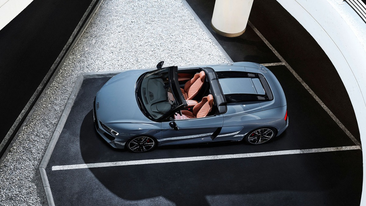 Audi R8 V10 performance RWD, Spyder