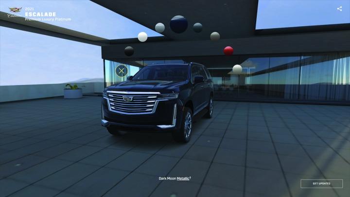 Skonfiguruj nowego Cadillaca Escalade 2021