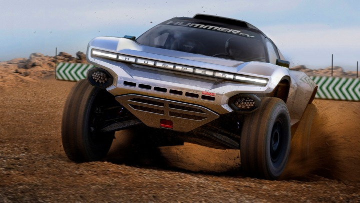 GMC HUMMER EV w serii Off-Road Extreme E Racing