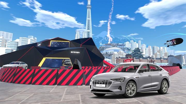 Audi e-tron Sportback podbija wirtualny świat
