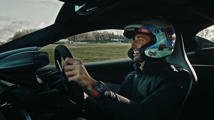 Pierwsze testy na torze McLarena Artura