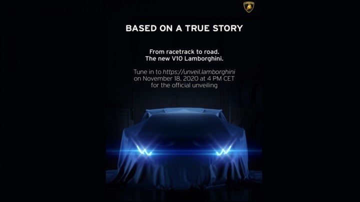 Nowe Lamborghini V10
