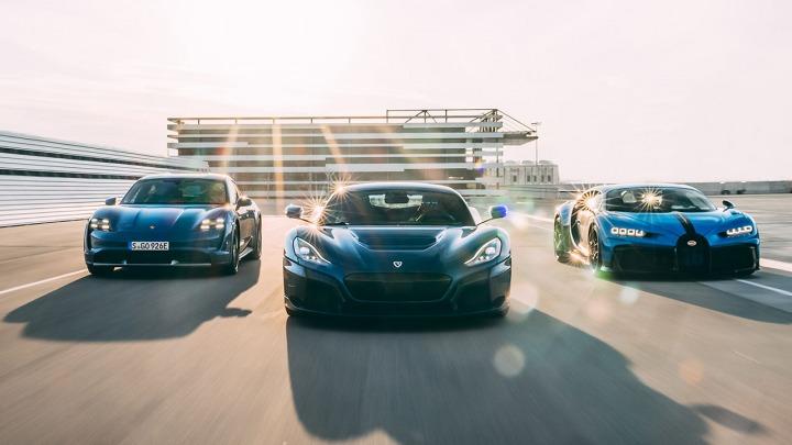 Porsche, Rimac i Bugatti łączą siły jako nowy producent hipersamochodów