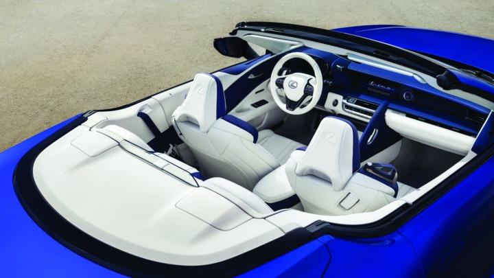 Najpiękniejszy kabriolet na świecie wg Lexusa, LC Convertible