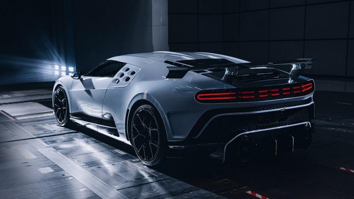 Bugatti Centodieci pomyślnie kończy testy w tunelu aerodynamicznym