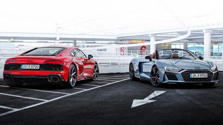 Jeszcze więcej mocy. 570 KM w nowym Audi R8 V10 performance RWD