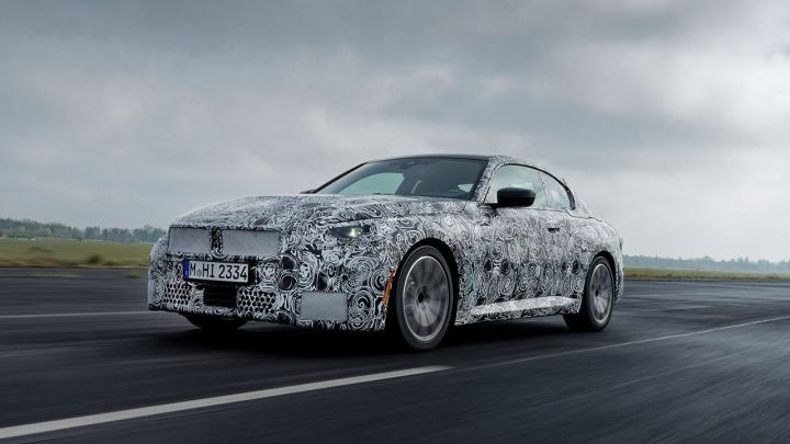Ostatnie testy nowego BMW serii 2Coupe