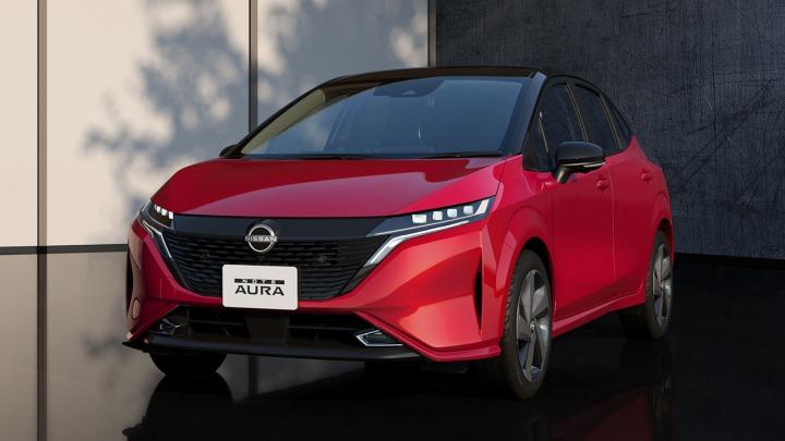 Nissan Note Aura premiera nowego modelu