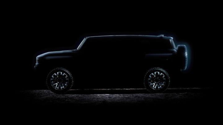 GMC ogłasza datę premiery modelu HUMMER EV SUV