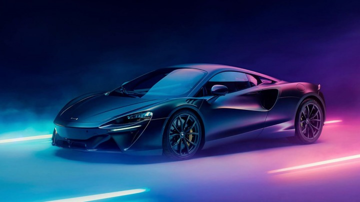 McLaren Artura supersamochód zelektryfikowany