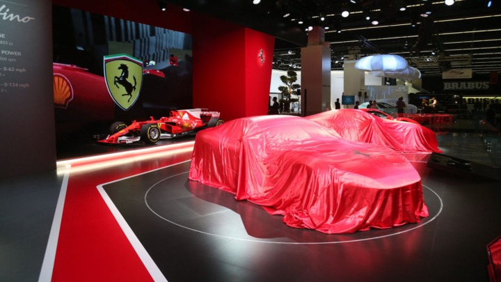 Ferrari oficjalnie zapowiedziało premierę nowego modelu