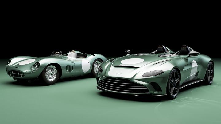 Zaprezentowano specjalną edycję Aston Martin V12 SpeedsterDBR1