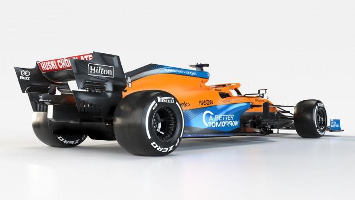 Prezentacja samochodu McLaren F12021
