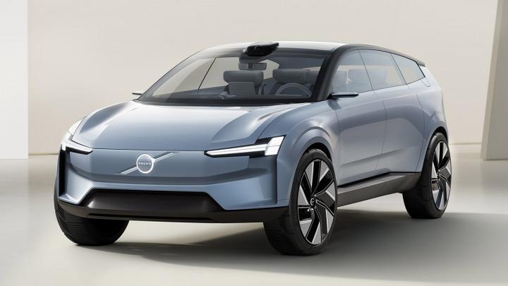 Volvo Concept Recharge elektryczna przyszłość Volvo Cars