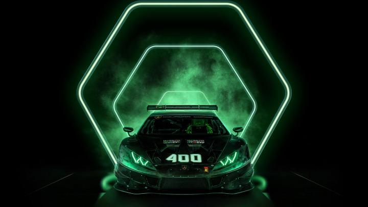 Lamborghini świętuje produkcję 400. wyścigowego samochodu Huracan
