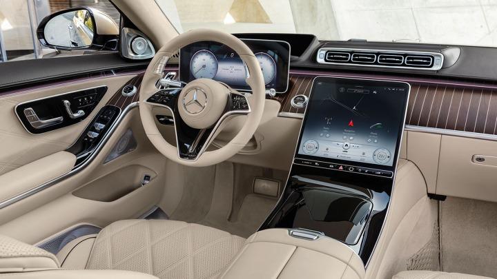 Stylistyka wnętrza nowej Klasy S Mercedes-Maybach