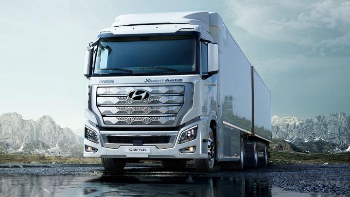 Pierwsza na świecie ciężarówka na wodór to Hyundai XCIENT Fuel Cell