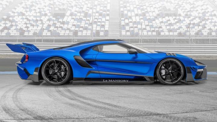 Dzika konwersja Le Mansory Forda GT o mocy 700 KM