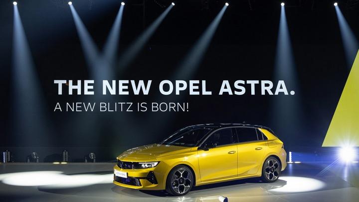 Światowa premiera nowego Opla Astry Hybrid