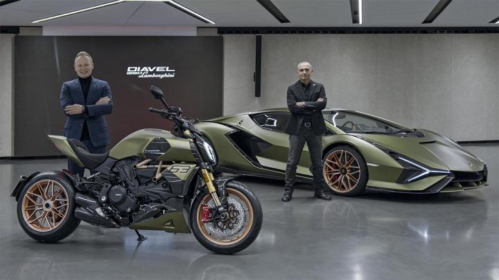 Ducati Diavel 1260 Lamborghini inspirowany Siánem FKP 37
