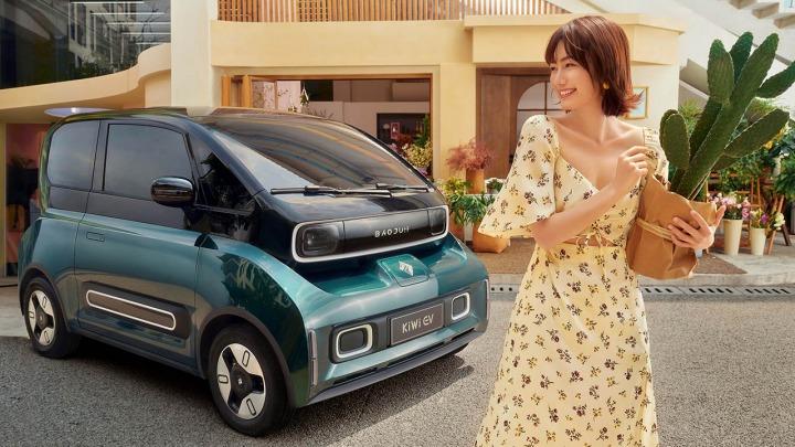 Poznaj Baojun KiWi, czteromiejscowy pojazd elektryczny na rynek chiński