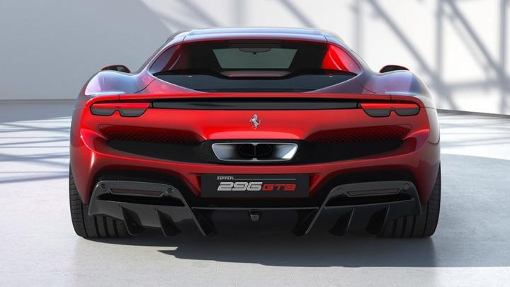 Ferrari 296 GTB nowa sportowa berlinetta