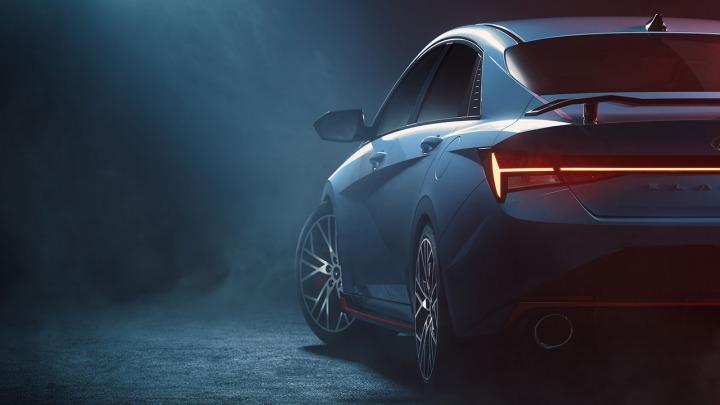 Hyundai opublikował pierwsze zdjęcia Elantry N