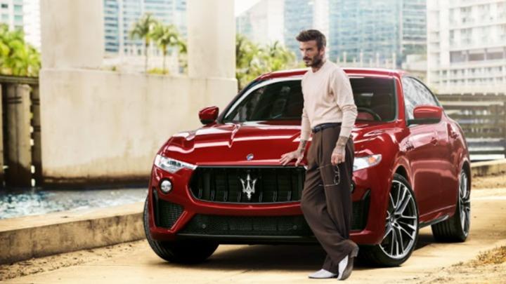 David Beckham jako nowy globalny ambasador Maserati