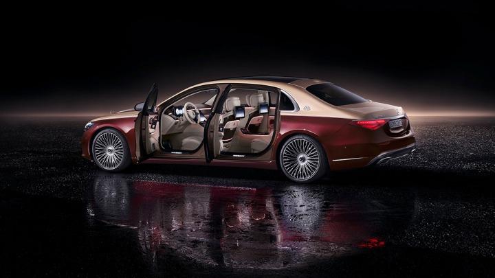 Technologia nowej Klasy S Mercedes-Maybach